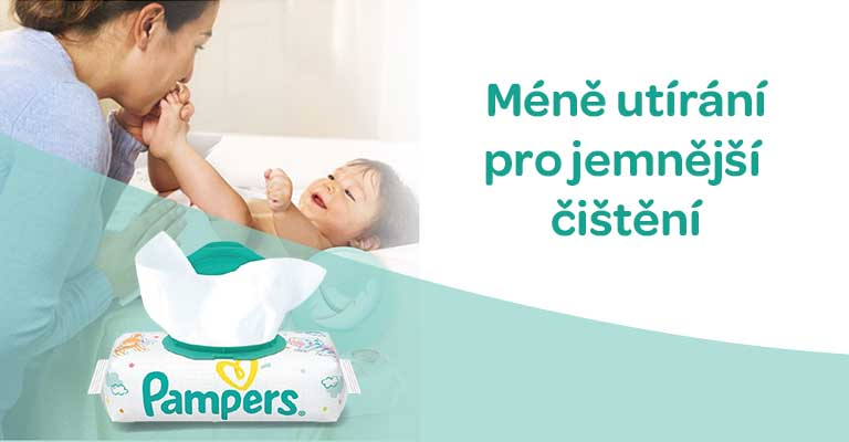 pampers ubrousky