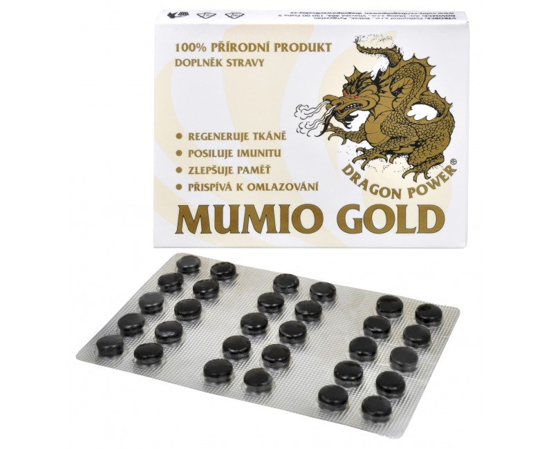 Gold Mumio - Dragon Power tablety 30