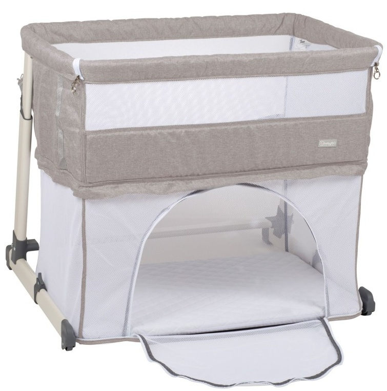 BabyGo postýlka Together II Beige