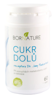 Bornature Cukr dolu 60 tablet