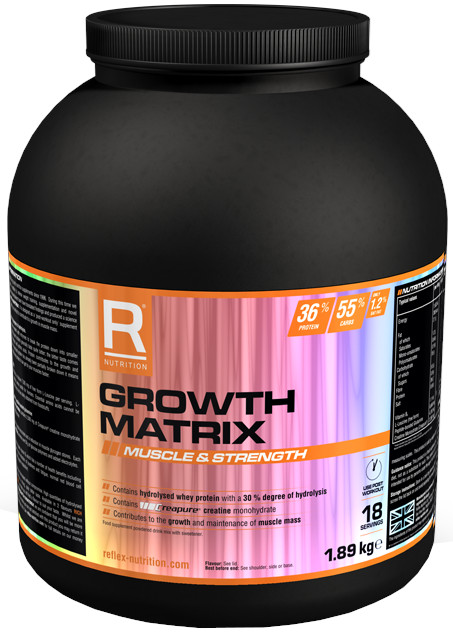 Reflex Nutrition  Growth Matrix Ovoce 1,89kg