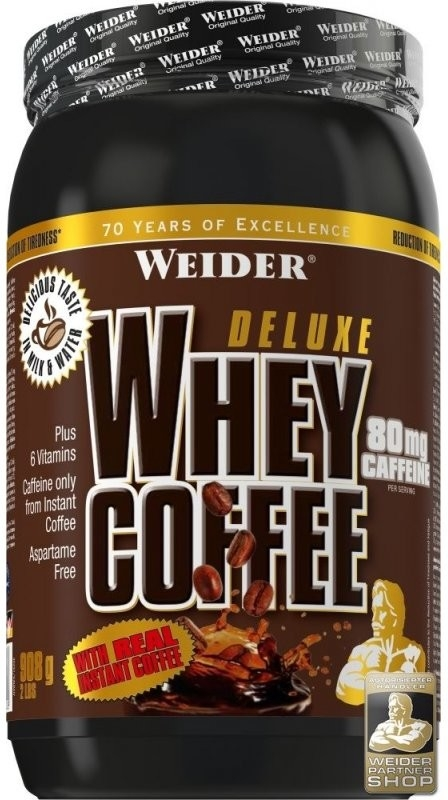 Weider Deluxe Whey Coffee 908g