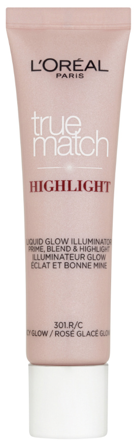 L´Oréal Paris True Match tekutý růžový rozjasňovač Icy Glow 30ml