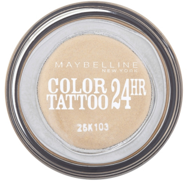 Maybelline Color Tattoo 24hr Eternal Gold 05 oční stíny