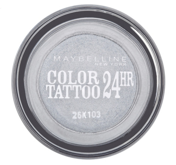 Maybelline Color Tattoo 24hr Eternal Silver 50 oční stíny