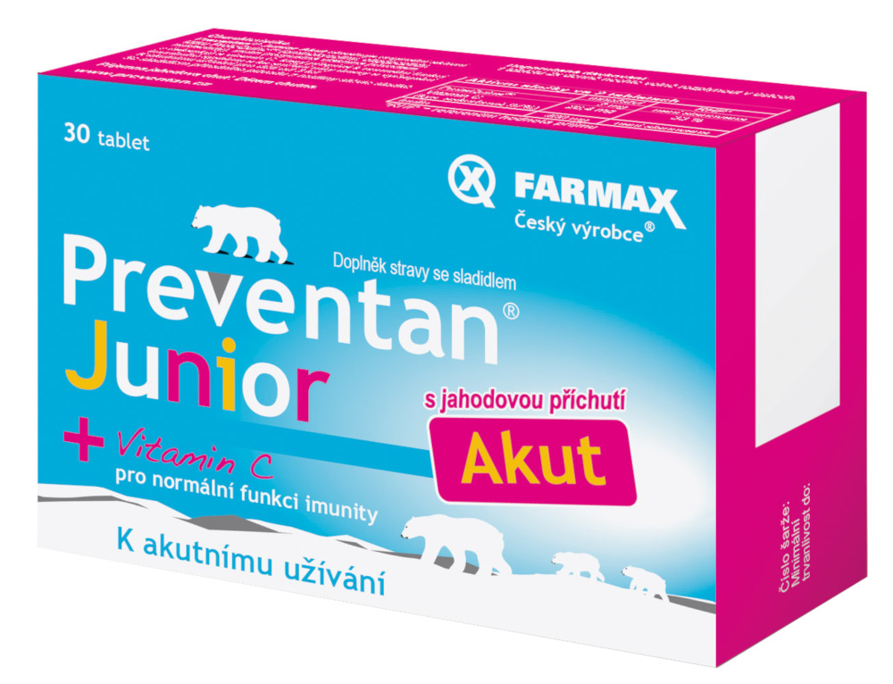 Preventan Junior Akut 30 tablet