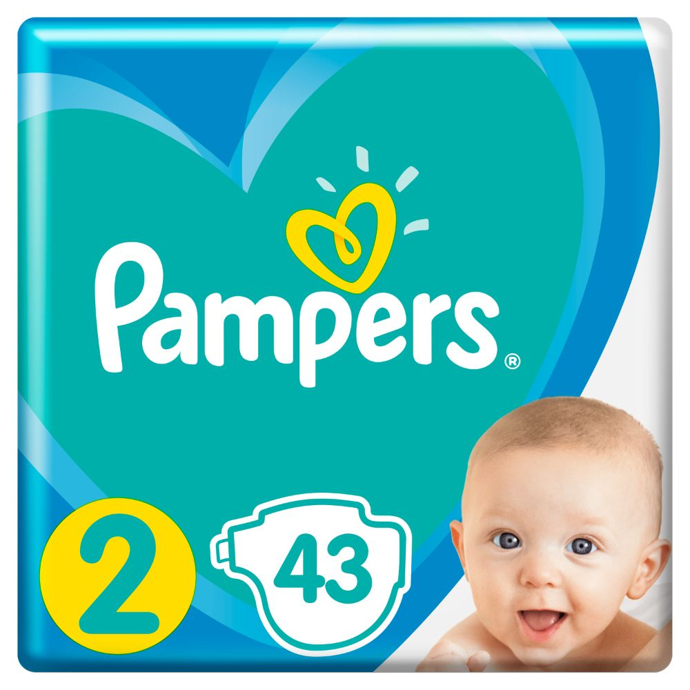 Pampers Active Baby S2 43ks, 4-8kg