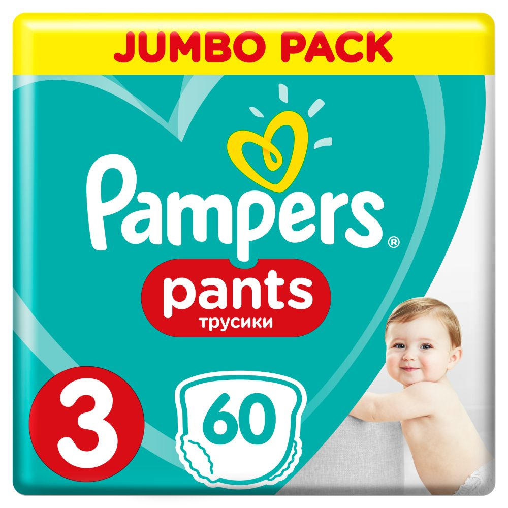 Pampers Pants S3 60ks, 6-11kg