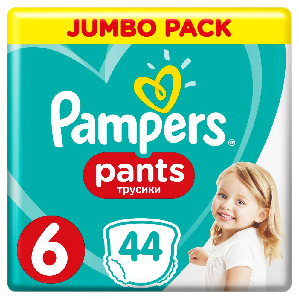 Pampers Pants S6 44ks, 15+kg