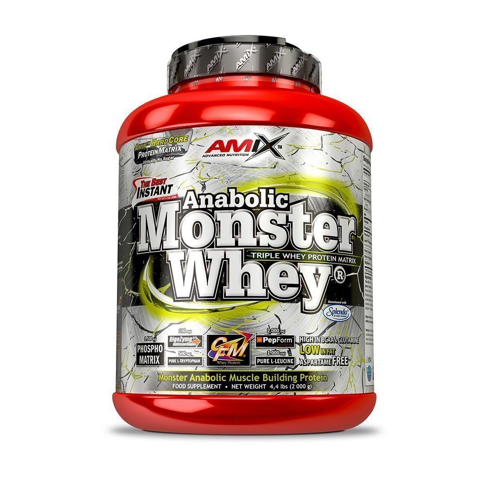 Amix Anabolic Monster Whey, Lime-Yoghurt, 2200g