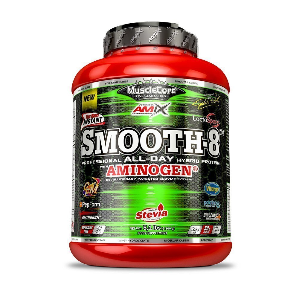 Amix Smooth-8, Double Chocolate, 2300g