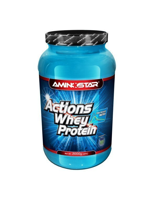 Aminostar Whey Protein Actions 65%, Chocolate, 1000g