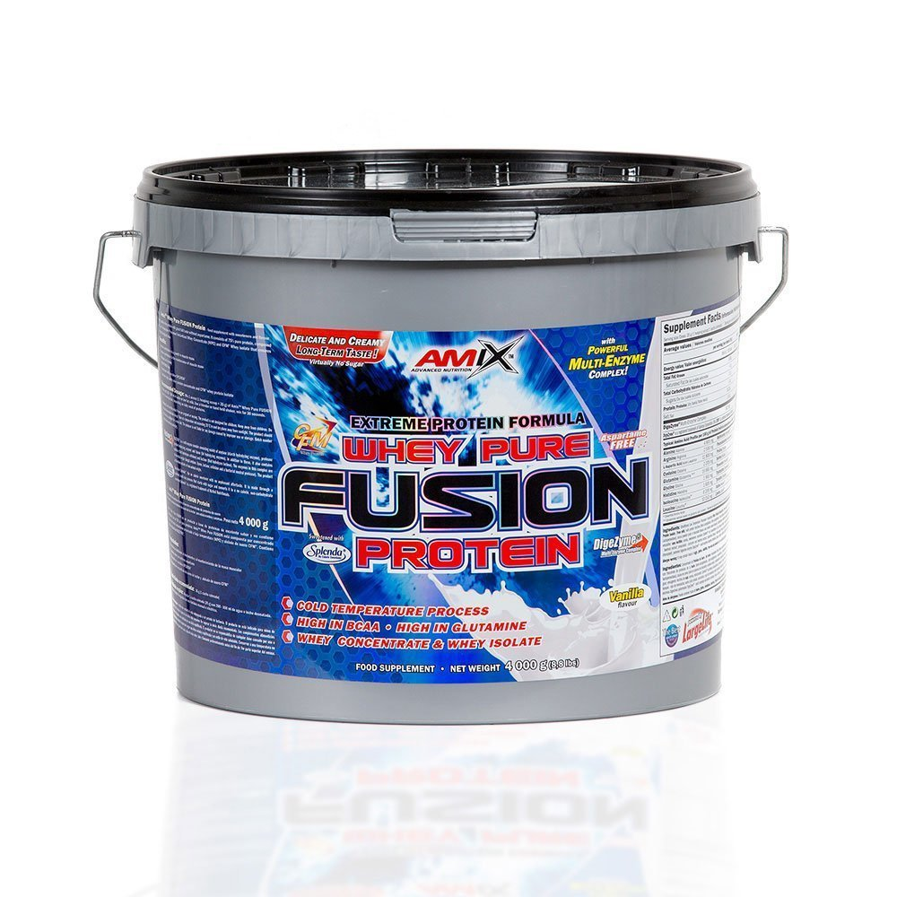 Amix Whey Pure Fusion Protein, Chocolate, 4000g