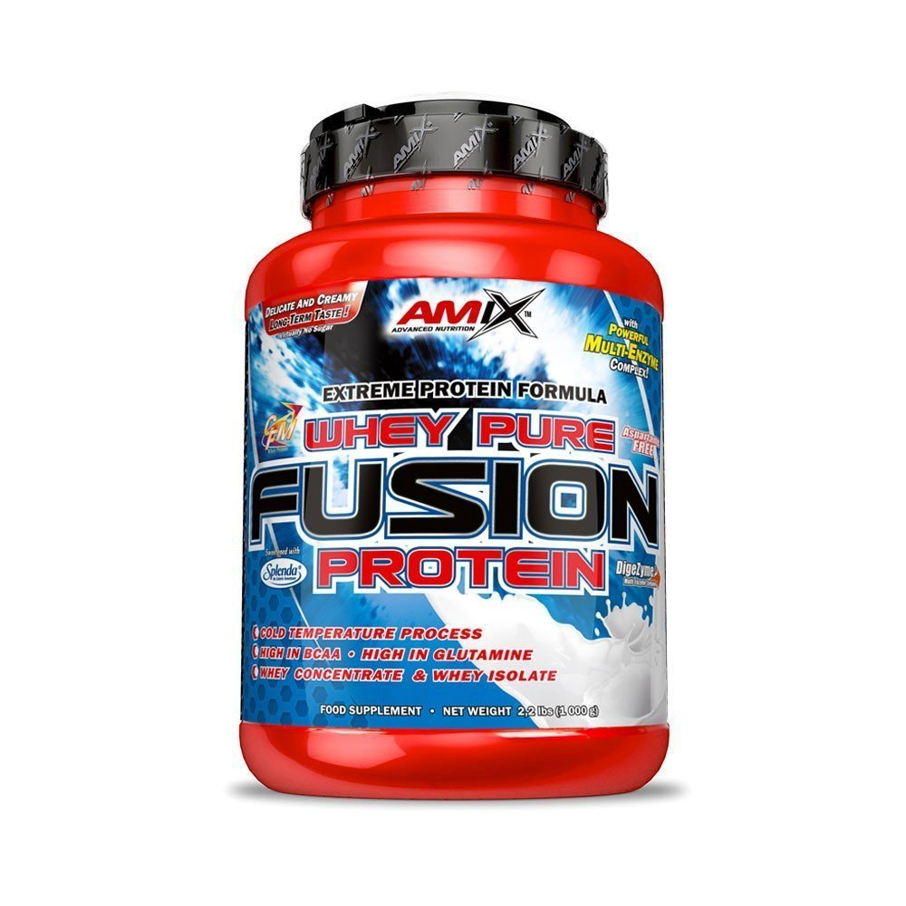 Amix Whey Pure Fusion Protein, Chocolate-Coconut, 1000g