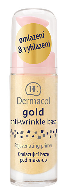 Dermacol Gold anti-wrinkle make-up base 20ml