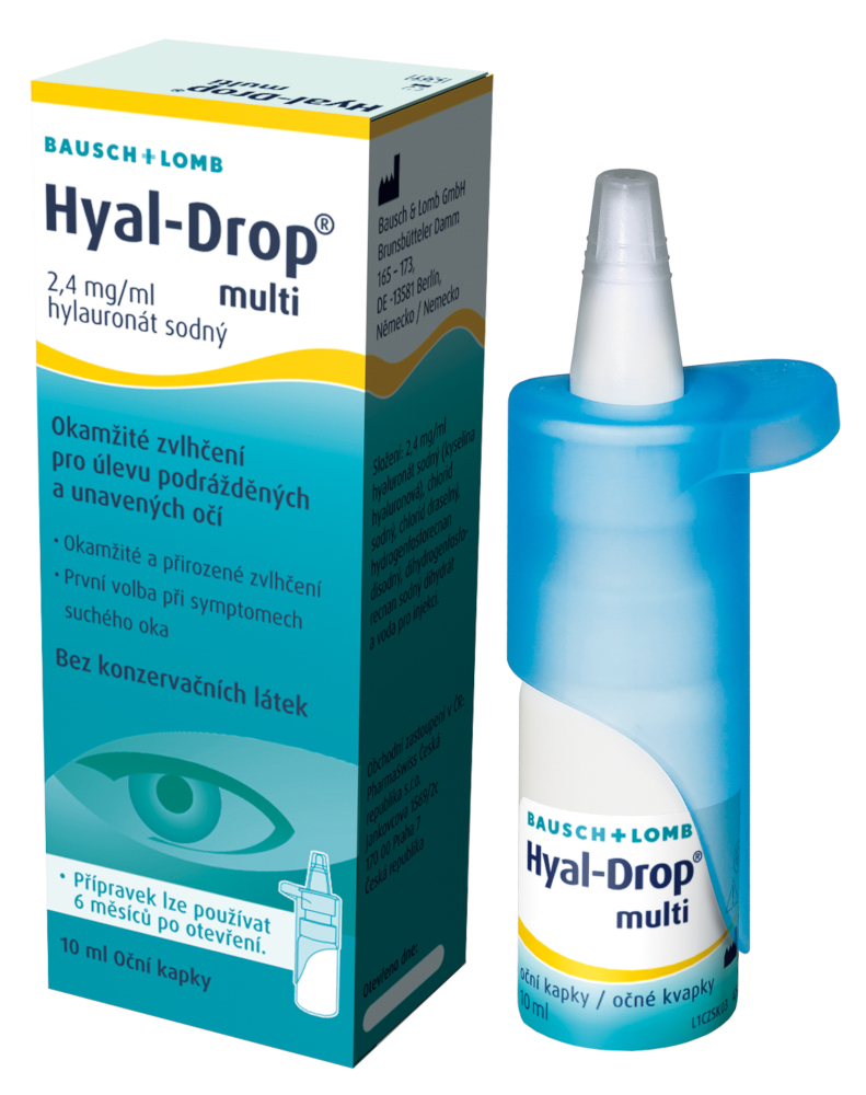 Hyal-Drop multi 2,4mg/ml oční kapky 10ml