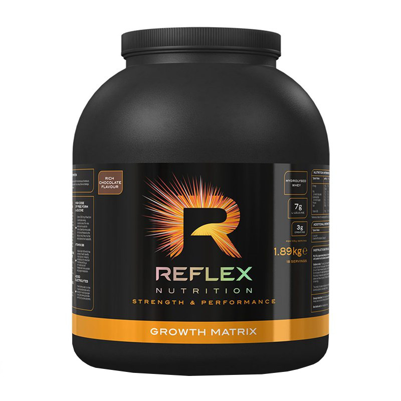 Reflex Nutrition Growth Matrix čokoláda 1,89kg