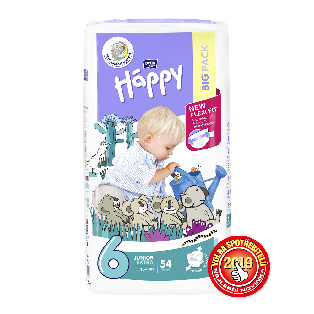 Bella Baby Happy Junior Extra 16+ 54ks