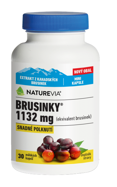 Swiss Nature Brusinky 1132mg 30 kapslí