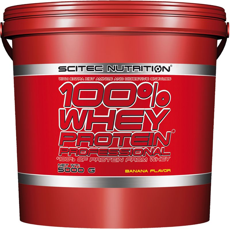 SciTec Nutrition 100% Whey Protein Professional vanilka-lesní plody 5000g