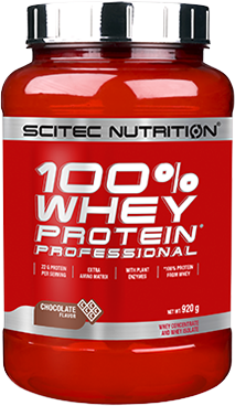 SciTec Nutrition 100% Whey Protein Professional vanilka-lesní plody 920g