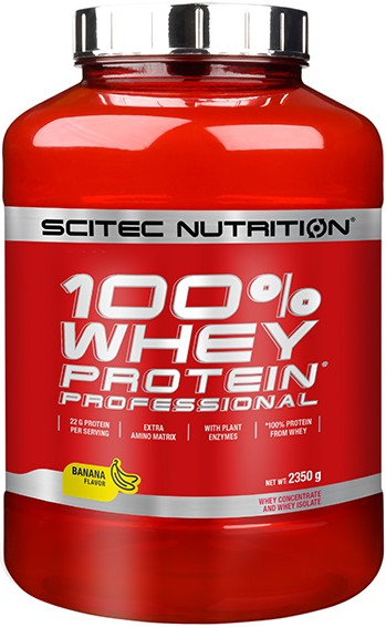 SciTec Nutrition 100% Whey Protein Professional vanilka-lesní plody 2350g
