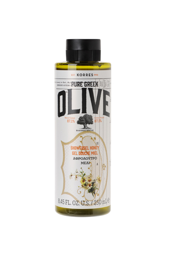Korres Pure Greek Olive sprchový gel s vůní medu 250ml