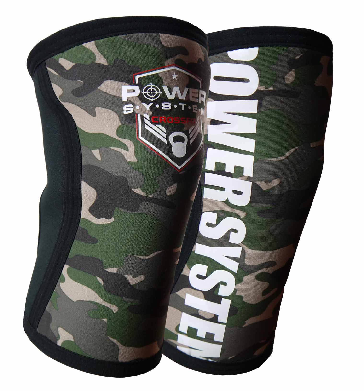 Power System kolenní bandáž KNEE SLEEVES CAMO vel.S/M 2ks