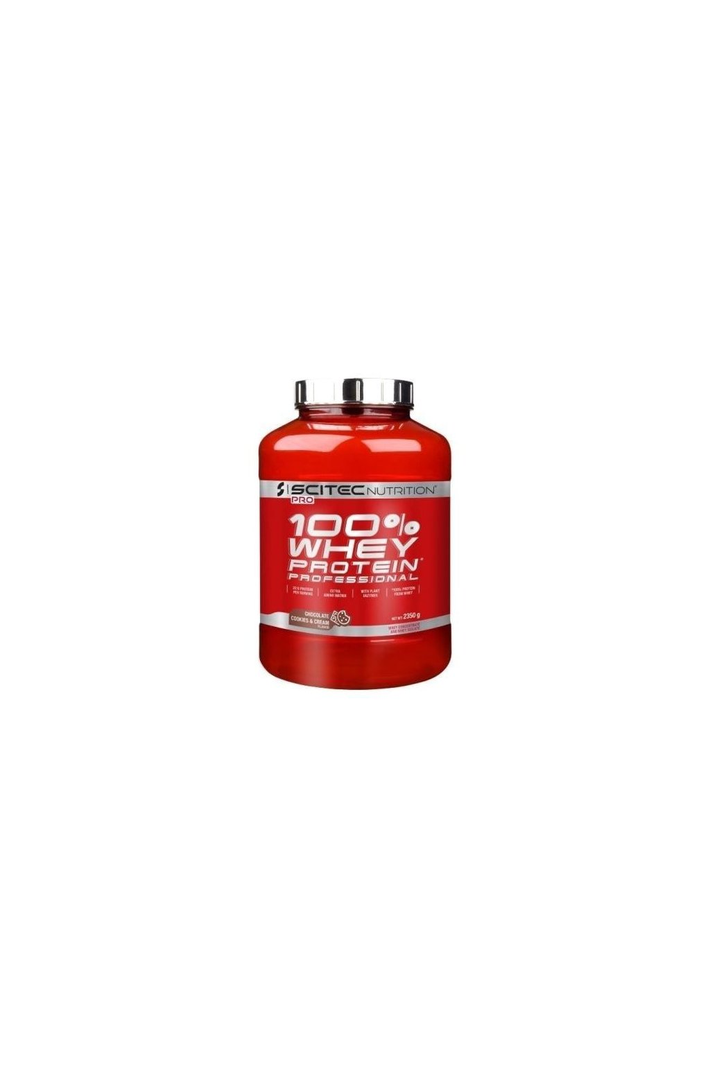 SciTec Nutrition 100% Whey Protein Professional 2350g cappuccino