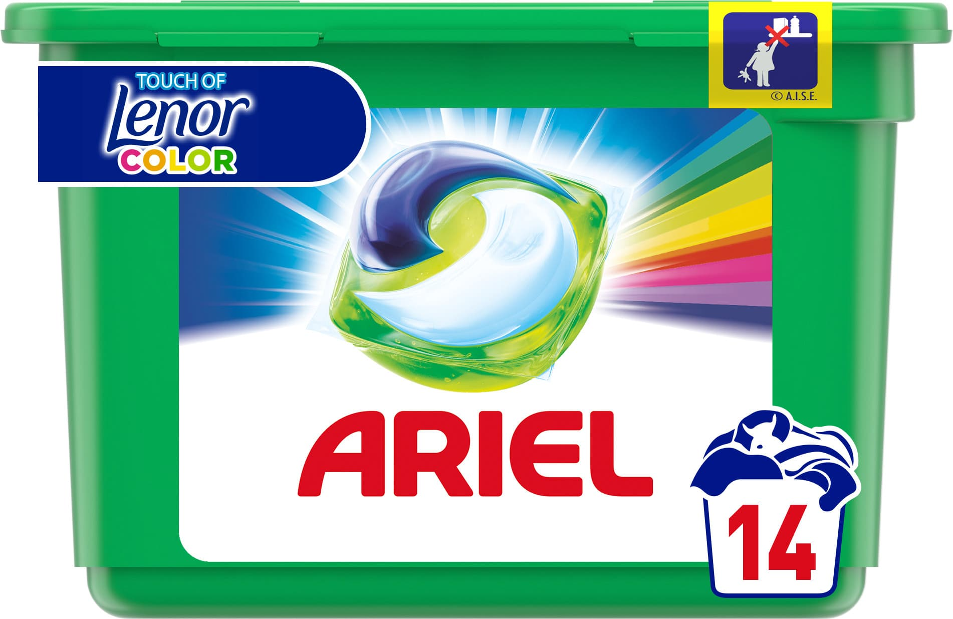 Ariel gelové kapsle Touch of Lenor 14ks