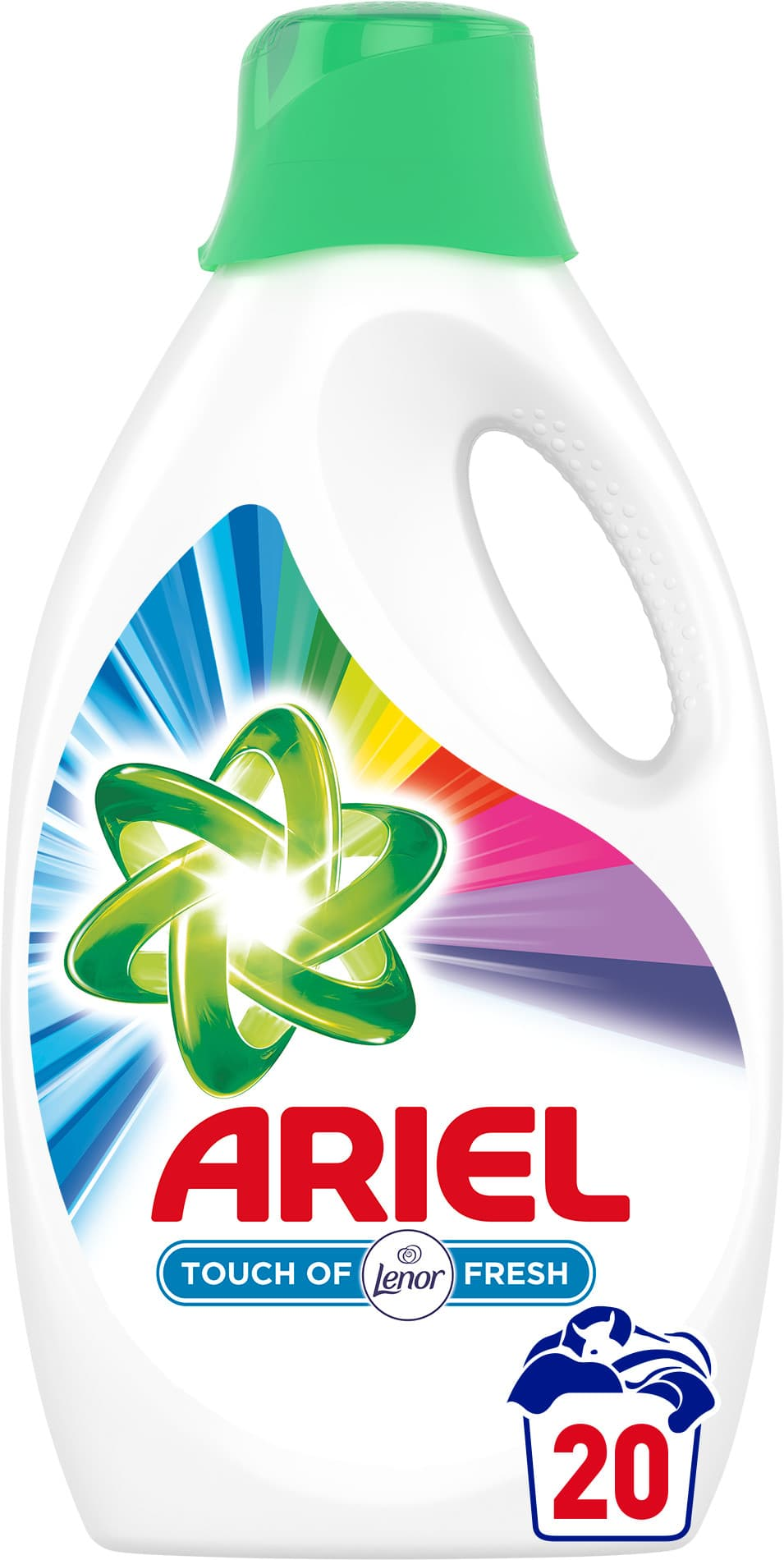 Ariel gel Touch of Lenor Color 1,1l (20 pracích dávek)