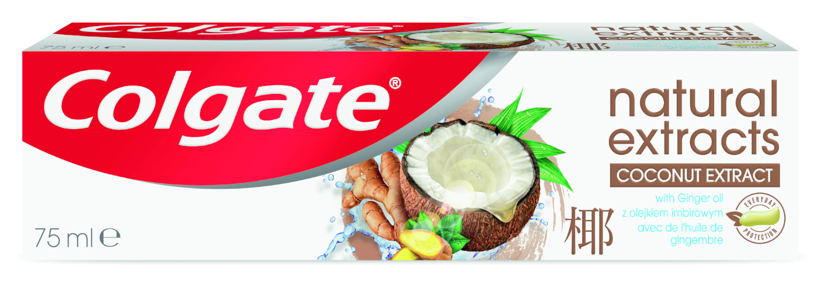 Colgate Zubní pasta Natural Extracts Coconut & Ginger 75ml