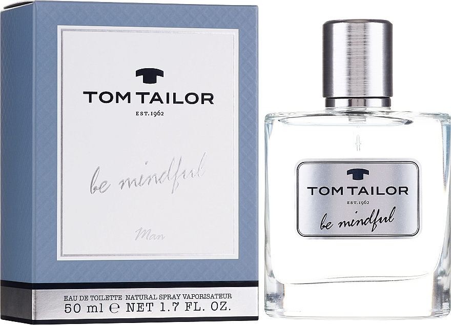 Tom Tailor Be Mindful Men EdT 50ml