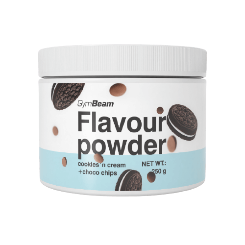 GymBeam Flavour powder cookies&cream with choco chips 250 g
