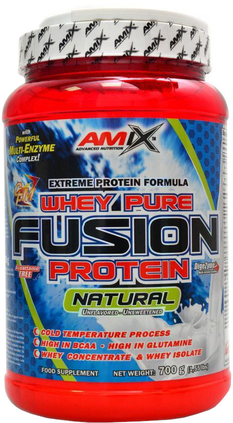 Amix Whey Pure Fusion Protein Natural 2300g