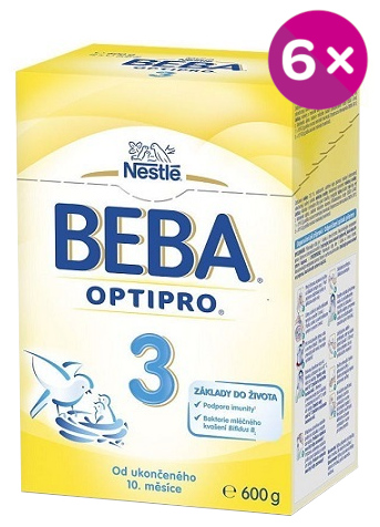 BEBA OPTIPRO 3 6x600g